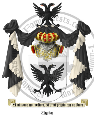Aguila Coat of Arms