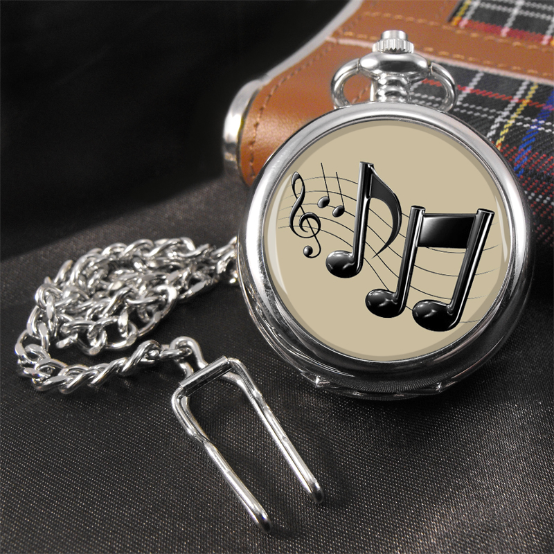 Music Note Musician Pocket Watch