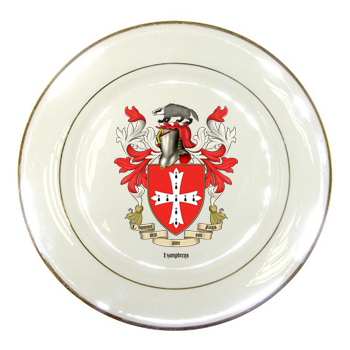 Coat of Arms Porceline Plate