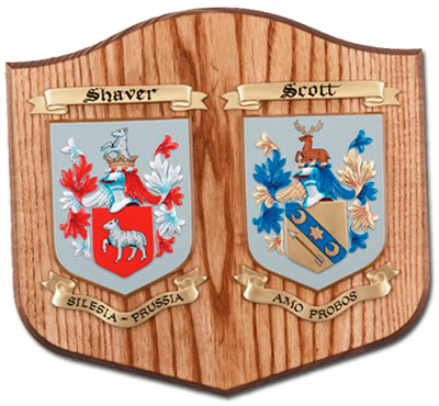 Marriage Arms Plaque