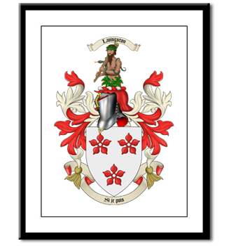 Coat of Arms Panel Print